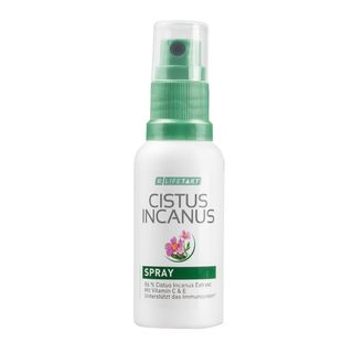 Cistus Incanus Spray 30 ml - Applikation im Mund-Rachenraum